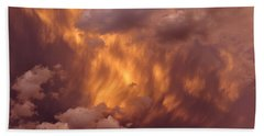 Thunder Clouds Beach Towel