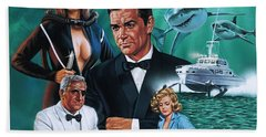 Thunderball Beach Towel