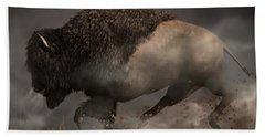 Thunderbeast Beach Towel