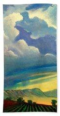 Thunderhead Beach Towel