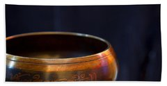 Tibetan Singing Bowl Beach Sheet