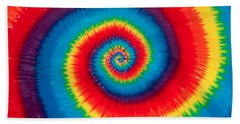 Tie Dye Beach Sheet