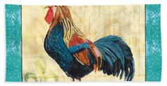 Tiffany Rooster 2 Beach Towel