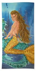 Tiger Lily Tails Beach Towel
