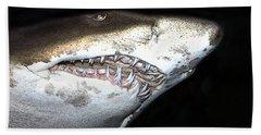Tiger Shark Beach Towel by Sergey Lukashin