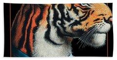 Tigerman Beach Towel