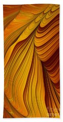 Tiger's Eye Beach Towel