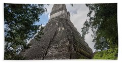 Tikal Pyramid 1b Beach Sheet