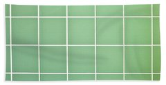 Tiles Background Beach Towel