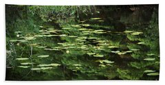 Time For Reflection Beach Towel