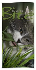 Beach Towel featuring the photograph Time To Dine by Vicki Ferrari