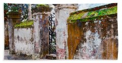 Brick Wall Charleston South Carolina Beach Sheet