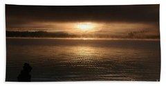 Timothy Lake Mysterious Sunrise 2 Beach Sheet