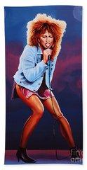 Tina Turner Beach Sheet by Paul Meijering