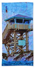Beach Towel featuring the painting To The Beach by Deborah Boyd