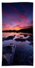 Tobermory Sunset 2 Beach Towel