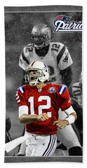 Tom Brady Patriots Beach Towel