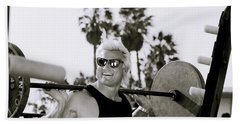 Tom Platz In Los Angeles Beach Sheet