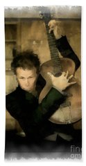 Tom Waits Beach Towel