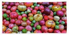 Tomatoes Beach Sheet by Bill Owen
