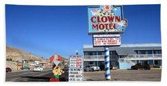 Tonopah Nevada - Clown Motel Beach Sheet