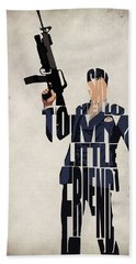 Tony Montana - Al Pacino Beach Towel