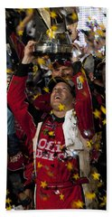 Tony Stewart Champion Beach Towel