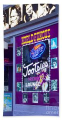Tootsies Nashville Beach Towel