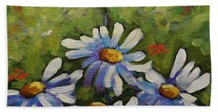 Top Of The Bunch Daisies By Prankearts Beach Towel