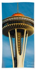 Top Of The Space Needle Beach Towel