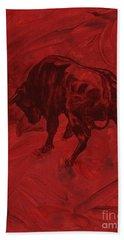 Toro Painting Beach Towel