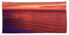 Beach Towel featuring the photograph Torrey Pines Twilight by John F Tsumas
