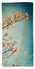 Touch The Sky Beach Towel