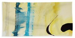 Beach Towel featuring the painting Tougher Than You Think 2 by Michael Cross