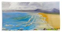 Towradgi Beach Beach Sheet by Pamela  Meredith