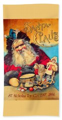Beach Towel featuring the photograph Toy Company 1894 by Lenore Senior
