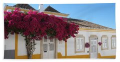 Traditional House Of Tavira. Portugal Beach Sheet
