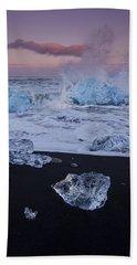 Trail Of Diamonds Beach Towel