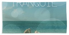 Tranquil  Beach Towel