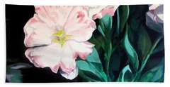 Tranquility In The Garden Beach Towel