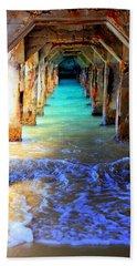 Tranquility Beach Sheet by Karen Wiles