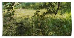 Tranquility Beach Towel by Mary Wolf