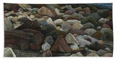 Treasure Stones Beach Towel