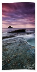 Trebarwith Strand Beach Towel