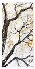 Tree Beach Towel