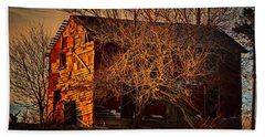 Tree House Beach Towel by Robert McCubbin