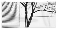 Tree Lines Beach Towel