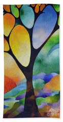 Tree Of Joy Beach Sheet