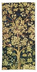 Tree Of Life Beach Sheet by William Morris
