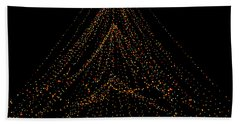 Tree Of Lights Beach Sheet